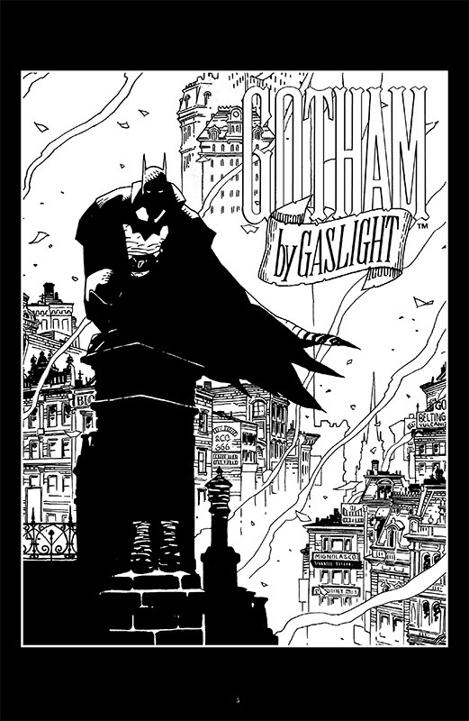Batman Noir: Gotham by Gaslight Blick in den Comic
