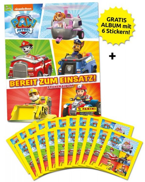 Paw Patrol Stickerkollektion 3 – Sammelbundle