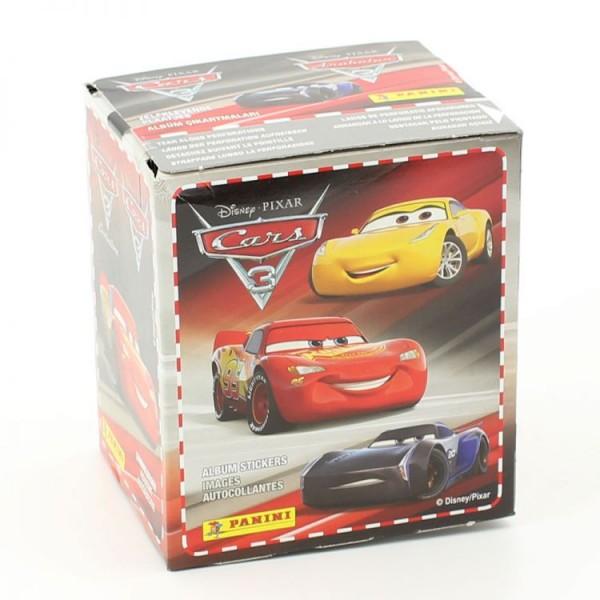 Cars Stickerkollektion - Box mit 50 Tüten
