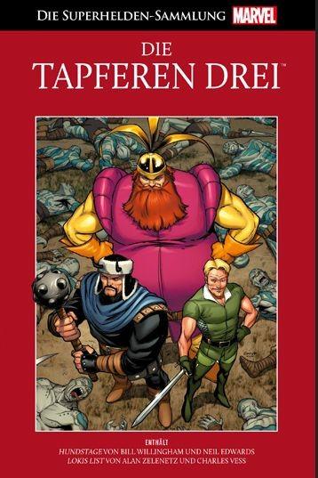 Die Marvel Superhelden Sammlung 32: Die Tapferen Drei