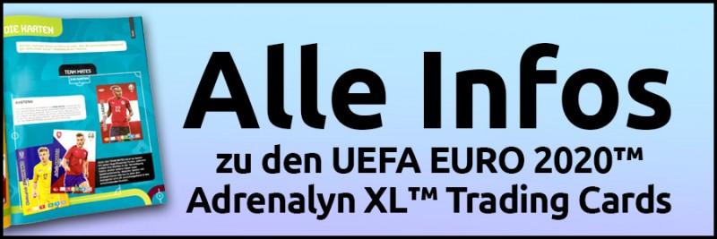 Alle Infos zu den UEFA EURO 2020 Adrenalyn XL Trading Cards