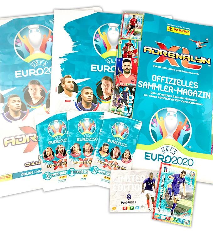 UEFA Euro 2020 Adrenalyn XL - Starterset komplett