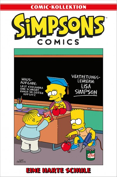 Simpsons Comic-Kollektion 53: Eine harte Schule Cover