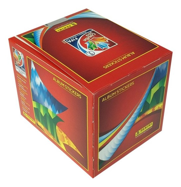 FIFA Frauen WM Sticker-Kollektion - Box mit 50 Tüten