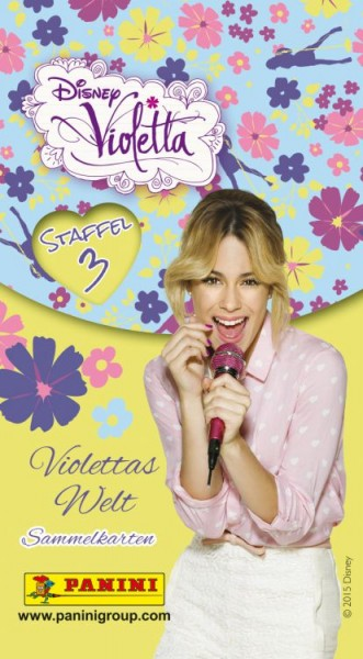 Disney - Violetta - Sammelkarten - 1 Tüte