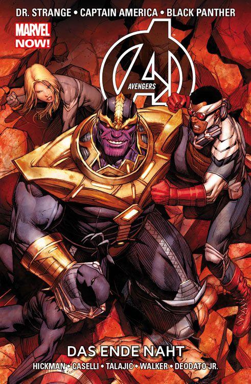 Avengers Paperback 8 (2014): Das Ende...