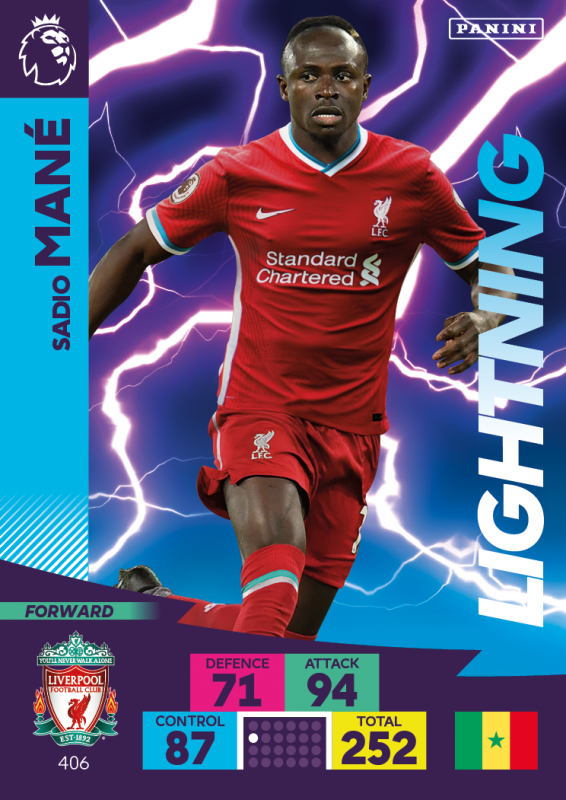 Panini Premier League Adrenalyn XL 2020/21 - Sadio Mane