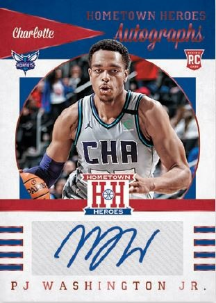 NBC Chronicles 2019/20 Trading Cards - Autogramm-Card PJ Washington