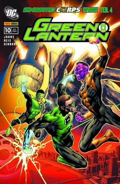 Green Lantern Sonderband 10: Sinestro Corps War 4