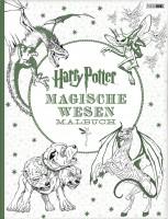 Harry Potter: Magische Wesen - Malbuch Cover