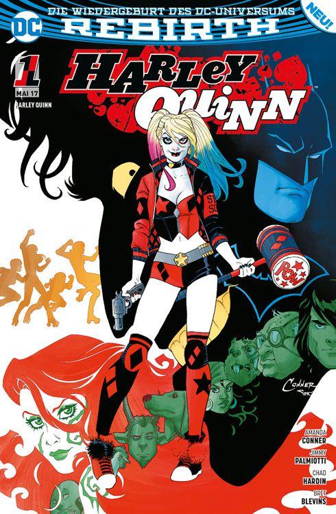 DC COMICS HARLEY QUINN HAT NEW!