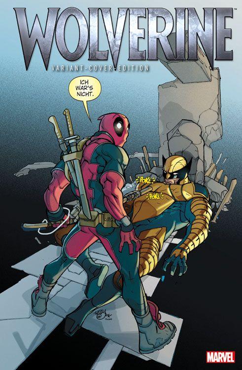 Wolverine/Deadpool 25 Variant