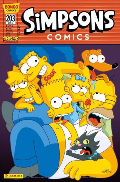 Simpsons Comics 203