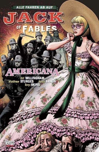 Jack of Fables 4 - Americana