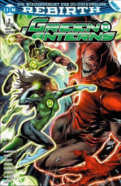 Green Lanterns 2: Die rote Flut