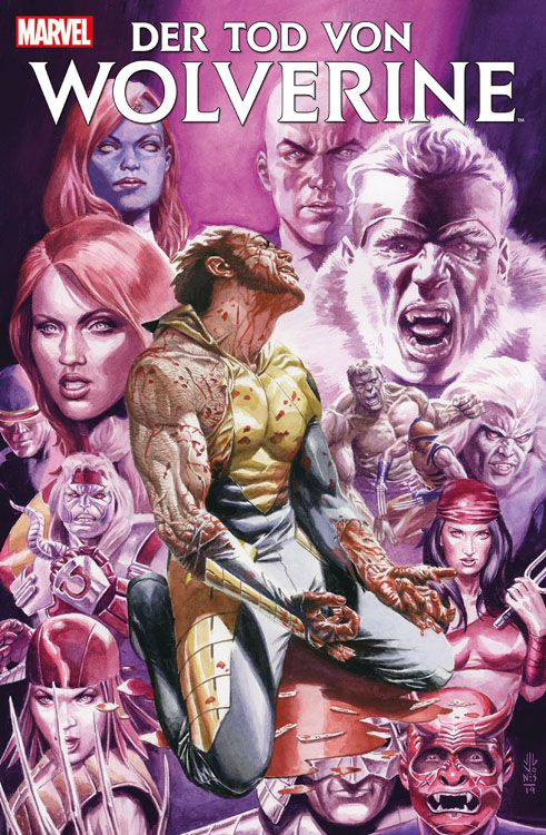 Der Tod von Wolverine 2 Adamantium...