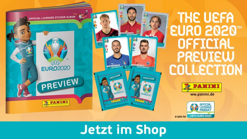 THE UEFA EURO 2020 OFFICIAL PREVIEW COLLECTION - Jetzt im Shop