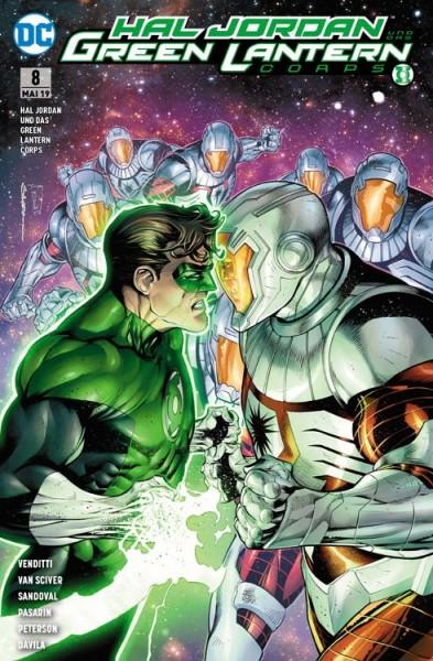 Hal Jordan und das Green Lantern Corps 8