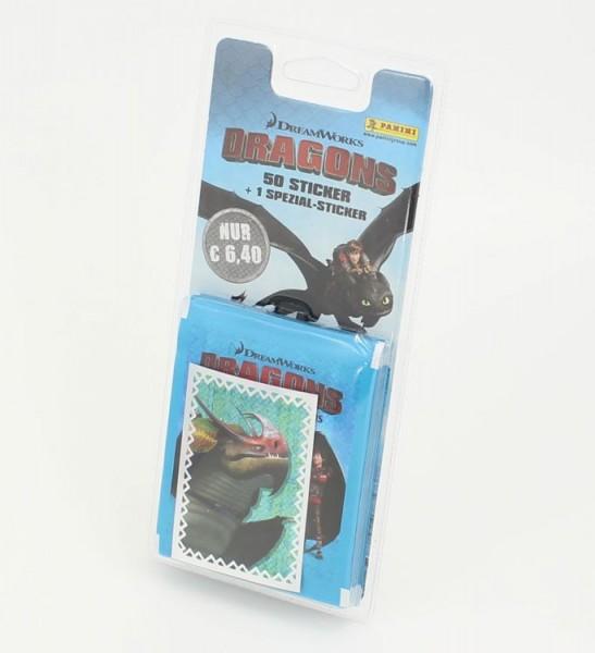 Dragons: Das Buch der Drachen Stickerkollektion - Blister