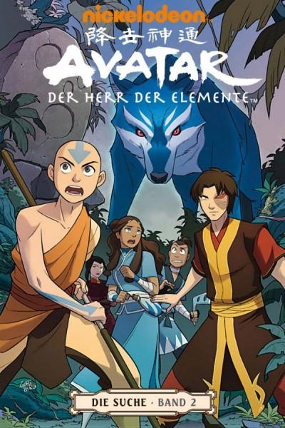 Avatar - Der Herr der Elemente 6: Die Suche 2 - Cover