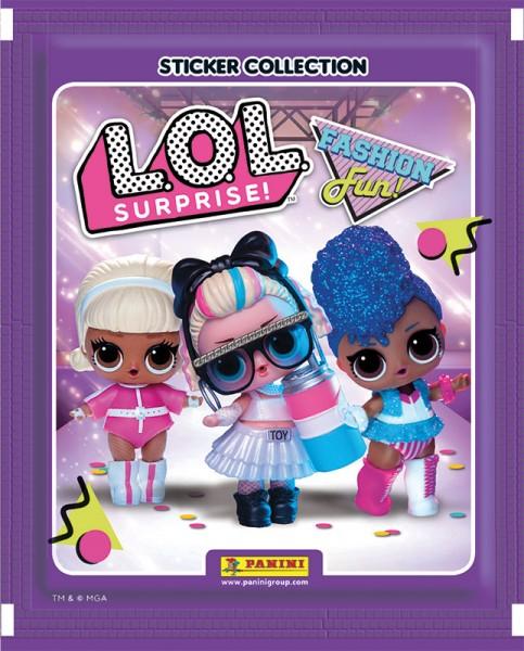 L.O.L. Surprise! Fashion and Fun! Stickerkollektion - Tüte