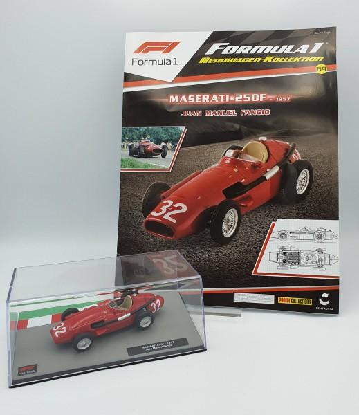 Formula 1 Rennwagen-Kollektion 69 - Juan Manuel Fangio (Maserati 250F)