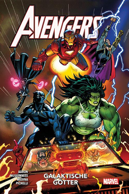 Avengers Paperback 1: Galaktische...