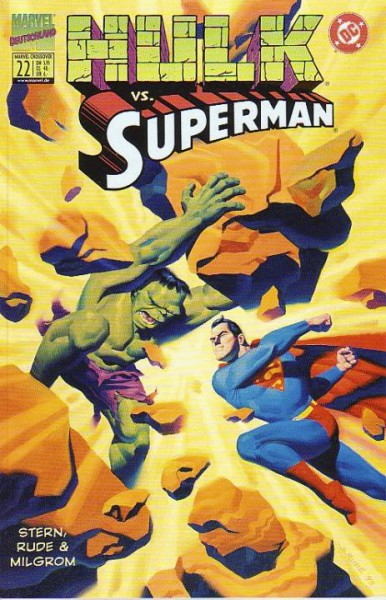 Marvel Crossover 22: Hulk vs. Superman