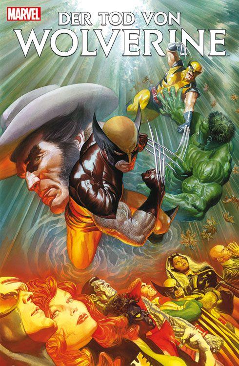 Der Tod von Wolverine 1 Adamantium...