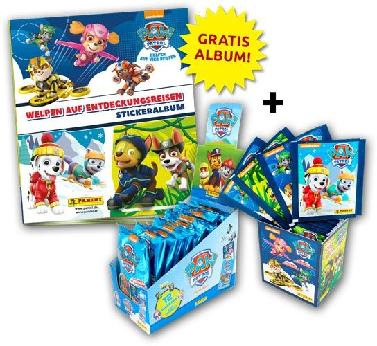 Paw Patrol Stickerkollektion 2 - Sticker-Starter-Bundle 1
