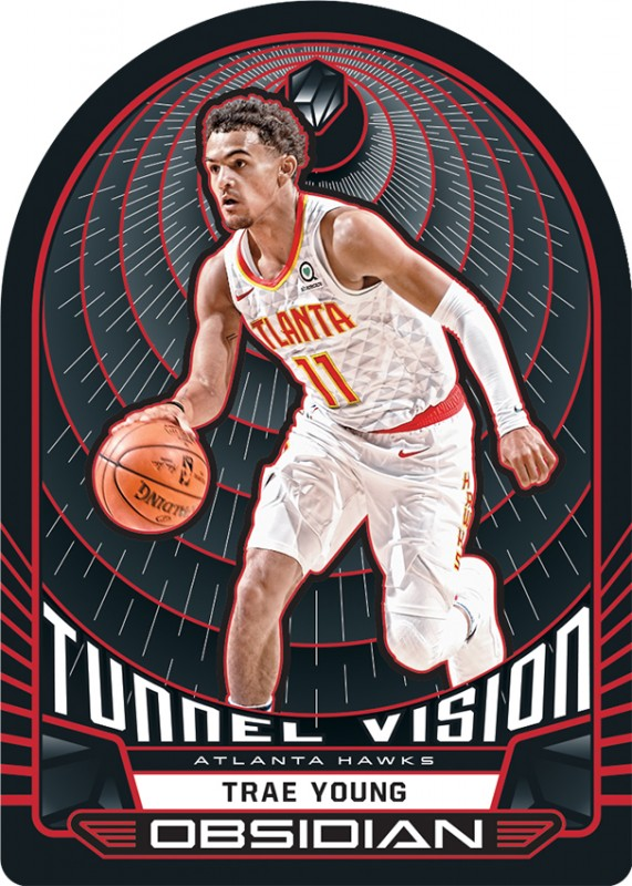 NBA Basketball Obsidian Trading Cards 2019/20 - Trae Young