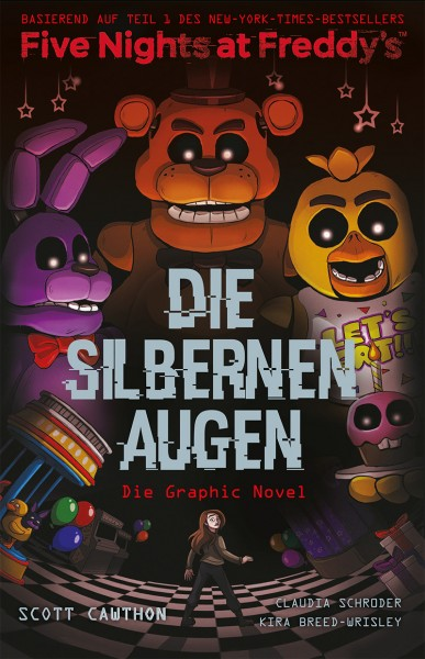 Five Nights at Freddy's Graphic Novel: Die silbernen Augen