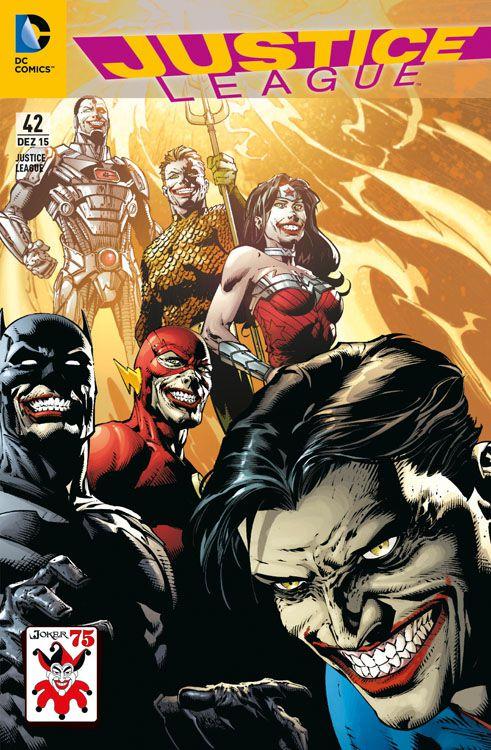 Justice League 42 Joker Variant