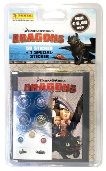 Dragons - Stickerkollektion - Blister