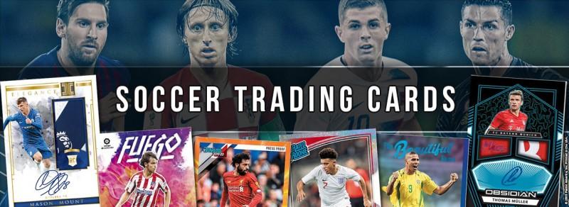Soccer Trading Cards - Allgemeiner Banner