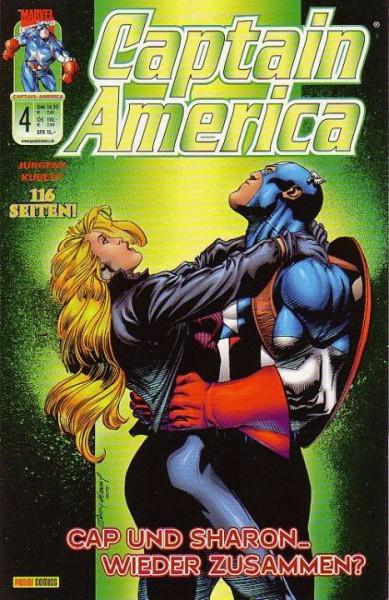 Captain America 4 (2001): Cap und Sharon? Wieder zusammen?