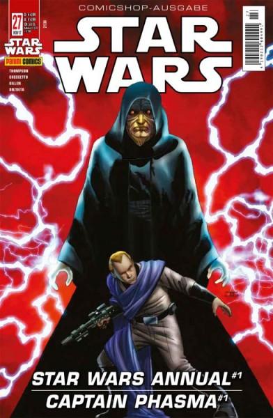 Star Wars 27: Captain Phasma; Star Wars Annual 1 (Comicshop-Ausgabe)