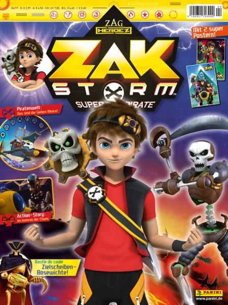 Zak Storm 04/19 Magazin Cover