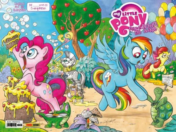 My Little Pony: Freundschaft ist Magie 1 Variant B - Comic Action 2013