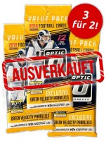 NFL 2018 DONRUSS Optic Football Trading Cards - Fat Pack Bundle