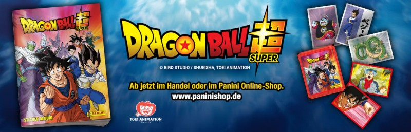 Dragon Ball Super Stickerkollektion Banner