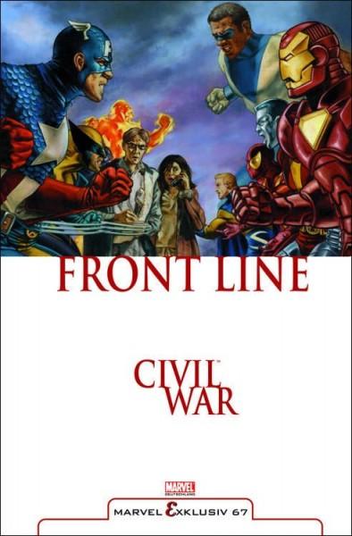 Marvel Exklusiv 67: Civil War - Front Line 1