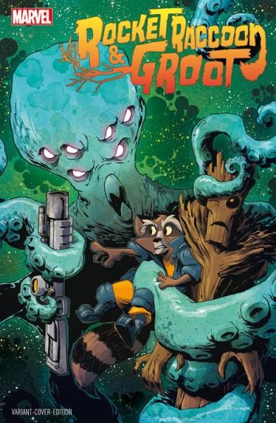 Rocket Raccoon & Groot 1 Variant - Vienna Comic Con