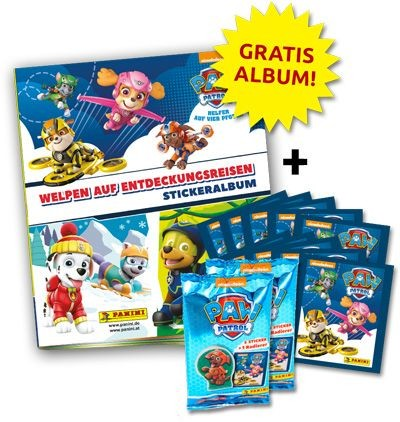 Paw Patrol Stickerkollektion 2 - Bundle 1