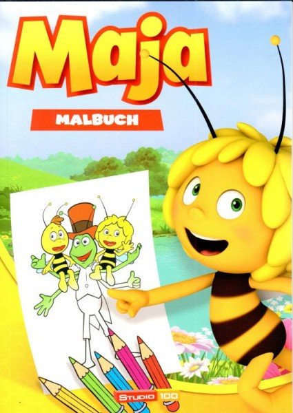 Biene Maja - Malbuch