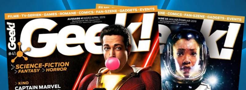 Geek - Magazin - Flexibles Abo - Cover
