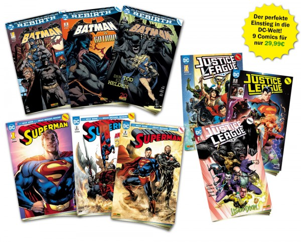 DC Heftserien Schnupper-Bundle Spezial
