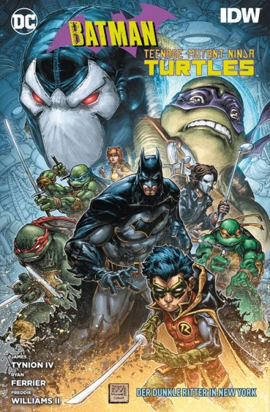 Batman/Teenage Mutant Ninja Turtles - Der Dunkle Ritter in New York