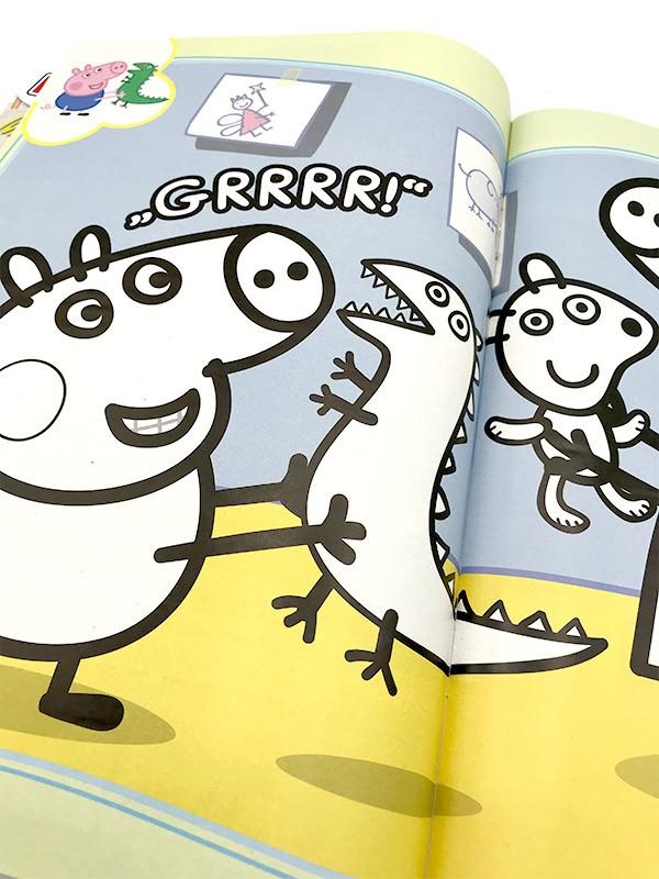 Peppa Pig Magazin Innenansicht Malvorlagen