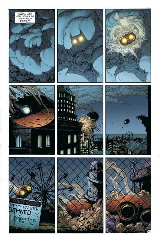 Doomsday Clock Blick in den Comic Vorschauseite 3